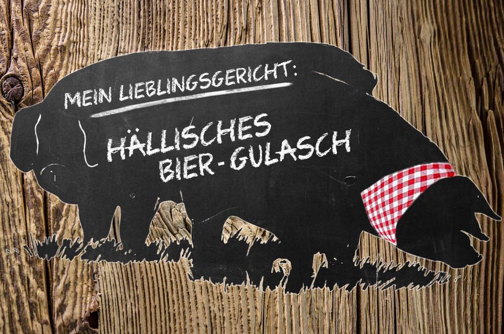Serie (3): Hällisches Bier-Gulasch