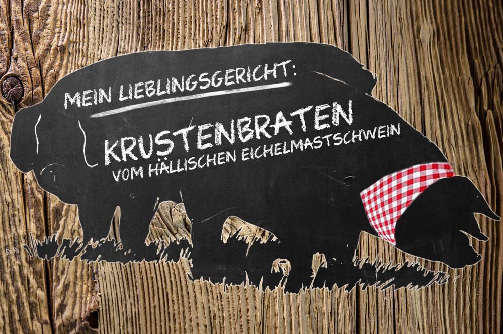 Serie (4): Krustenbraten vom Hällischen Eichelmastschwein